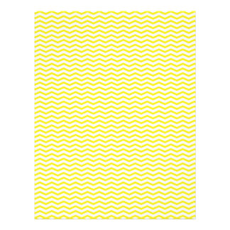 Yellow Chevron/Zig Zag Scrapbook Paper