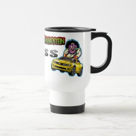 Yellow Chevy Camaro SS Commuter Mug