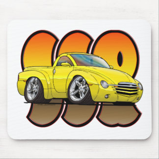 Yellow Chevy SSR Mouse Pad