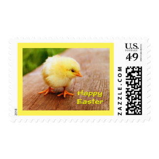 Yellow Chick Easter Postage