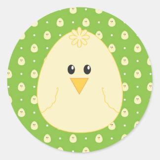 Yellow Chick Sticker
