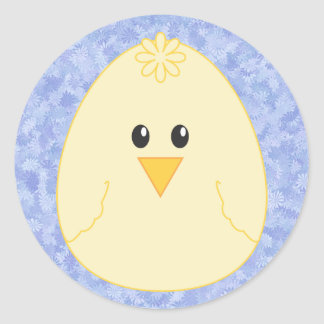 Yellow Chick Sticker