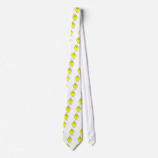 Yellow chick tie