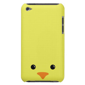 Yellow Chicken Cute Animal Face Design Barely There iPod Cover