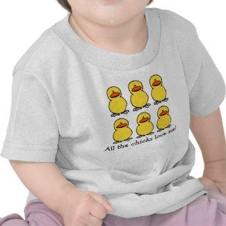 Yellow Chicks Love Shirt