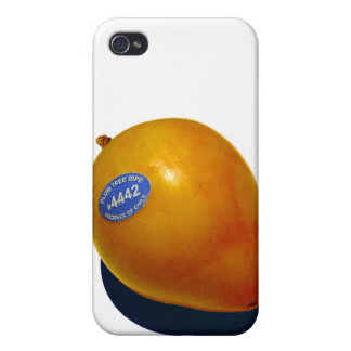 Yellow Chilean Plum iPhone 4 Cover