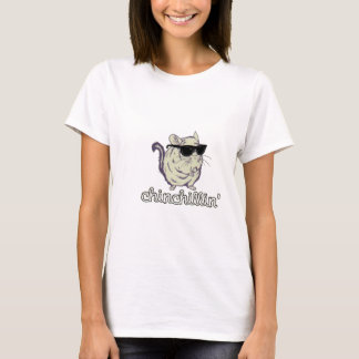 Yellow Chinchillin Chinchilla T-Shirt