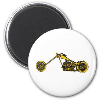 Yellow Chopper Style Magnet