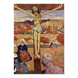 Yellow Christ by Paul Gauguin, Vintage Fine Art Card