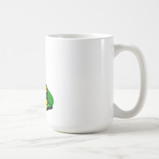 Yellow Christmas Candle Coffee Mug