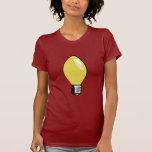 Yellow Christmas Tree Light Shirt