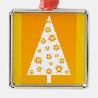 Yellow christmas tree - Ornament