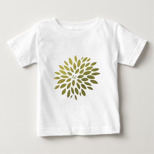 Yellow Chrysanthemum Baby T-Shirt