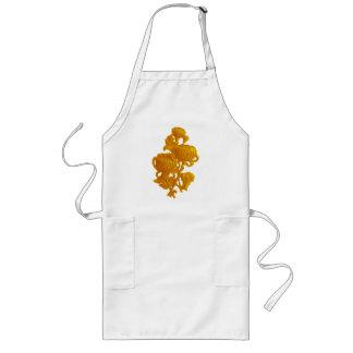 Yellow Chrysanthemum Long Apron