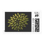 Yellow Chrysanthemum Postage Stamp