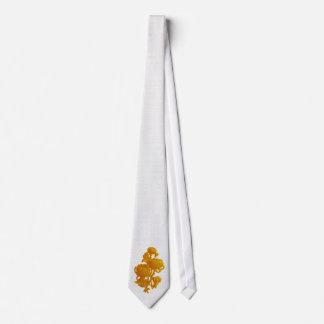 Yellow Chrysanthemum Tie