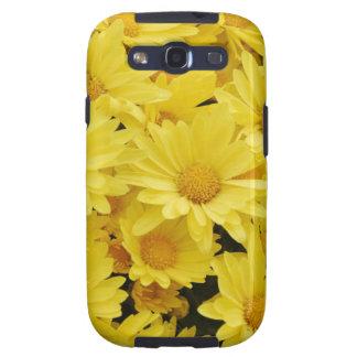Yellow Chrysanthemums  Samsung Galaxy Case Samsung Galaxy S3 Case