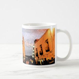Yellow Church Coffee Mug