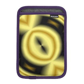 Yellow Circle Pattern iPad Mini Sleeve