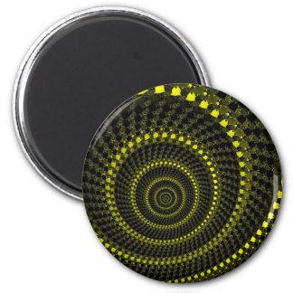 Yellow Circles Magnet