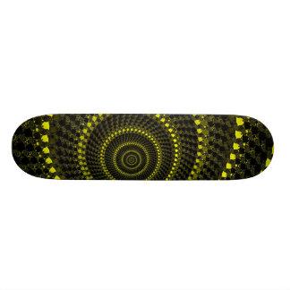 Yellow Circles Skateboard