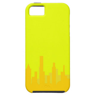 Yellow Cityscape iPhone SE/5/5s Case