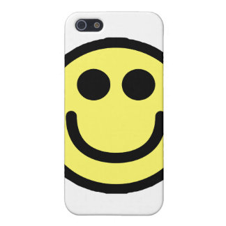 Yellow Classic Smiley Face Case For iPhone SE/5/5s
