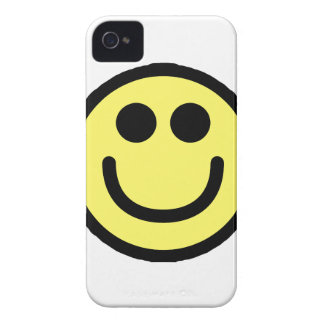 Yellow Classic Smiley Face iPhone 4 Case