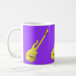 Yellow Cloud Guitar designed by The Artist... Coffee Mug