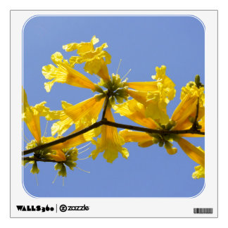 Yellow Clouds Wall Decal