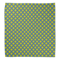 Yellow Clover Ribbon Bandana