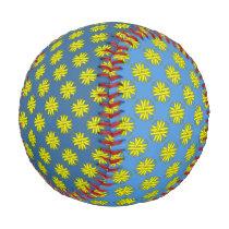 Yellow Clover Ribbon Baseball