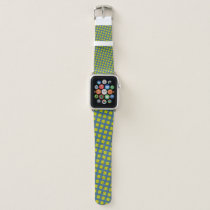Yellow Clover Ribbon by Kenneth Yoncich Apple Watch Band
