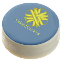 Yellow Clover Ribbon by Kenneth Yoncich Chocolate Covered Oreo