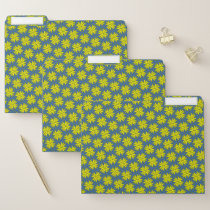 Yellow Clover Ribbon by Kenneth Yoncich File Folder