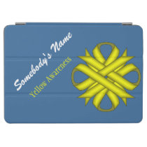 Yellow Clover Ribbon by Kenneth Yoncich iPad Air Cover