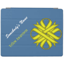 Yellow Clover Ribbon by Kenneth Yoncich iPad Smart Cover
