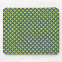 Yellow Clover Ribbon by Kenneth Yoncich Mouse Pad
