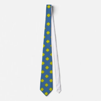 Yellow Clover Ribbon by Kenneth Yoncich Tie
