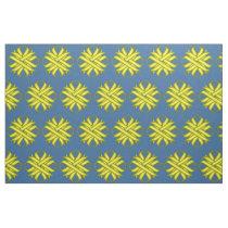 Yellow Clover Ribbon Fabric