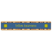 Yellow Clover Ribbon Key Rack