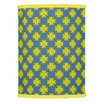 Yellow Clover Ribbon Lamp Shade