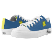 Yellow Clover Ribbon Low-Top Sneakers
