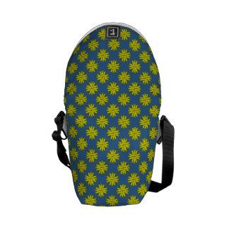 Yellow Clover Ribbon Messenger Bag