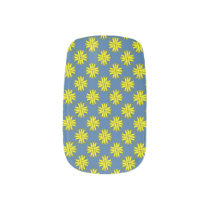 Yellow Clover Ribbon Minx Nail Wraps