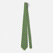 Yellow Clover Ribbon Neck Tie