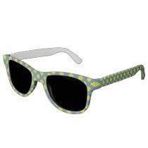 Yellow Clover Ribbon Sunglasses