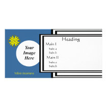 Yellow Clover Ribbon Template by Kenneth Yoncich