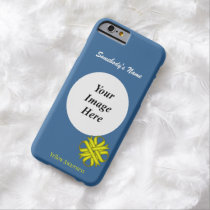 Yellow Clover Ribbon Template by Kenneth Yoncich Barely There iPhone 6 Case