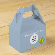 Yellow Clover Ribbon Template by Kenneth Yoncich Favor Box